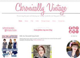 chronicallyvintage.com