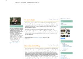 chronicalsofapreemiemom.blogspot.com