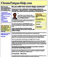 chronicfatigue-help.com