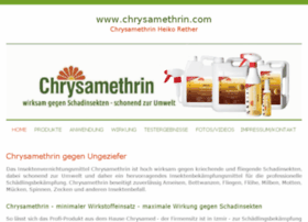 chrysamethrin.com