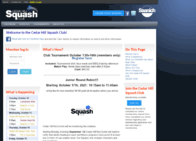 chsquash.org