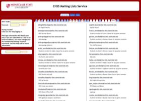 chss-lists.montclair.edu