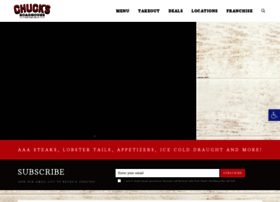 chucksroadhouse.com