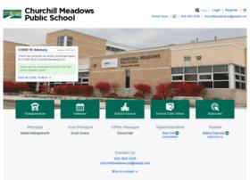 churchillmeadows.peelschools.org