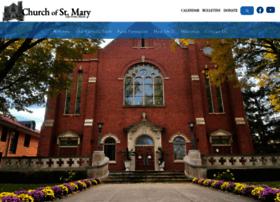 churchofstmary.org