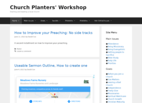 churchplantingworkshop.com