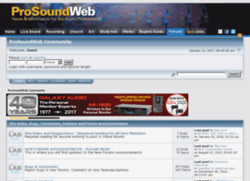 churchsound.prosoundweb.com