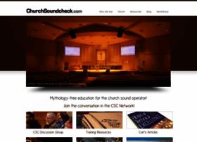 churchsoundcheck.com
