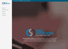 churchsystemsdesign.com