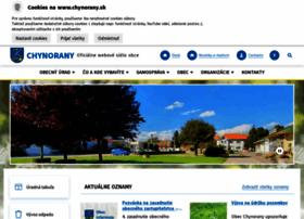 chynorany.sk