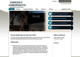 cianciolochiropractic.com
