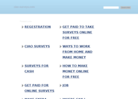 ciao-surveys.com