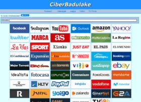 ciberbadulake.es