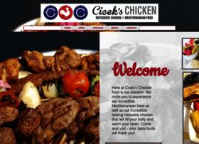 cicekschickenrestaurant.com