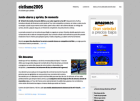 ciclismo2005.com