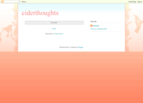 ciderthoughts.blogspot.com