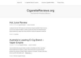cigarettereviews.org