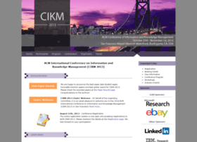 cikm2013.org