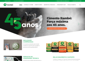 cimentoitambe.com.br