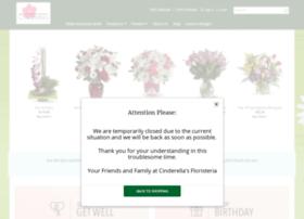 cinderellaflowershop.com
