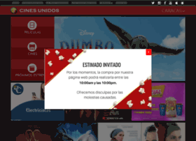 cinesunidos.net