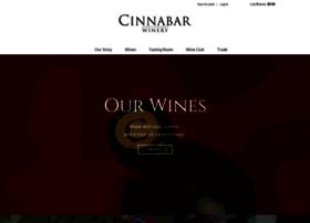 cinnabarwinery.com