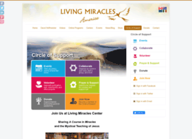 circle.livingmiraclescenter.org