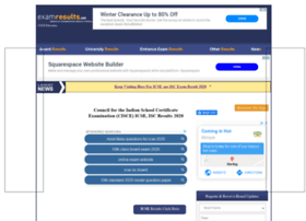 cisce.examresults.net