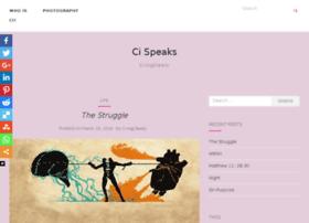 cispeaks.com