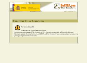 citapreviaconsular.maec.es