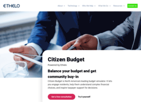 citizenbudget.com