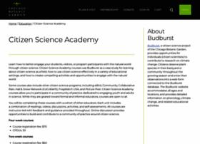 citizenscienceacademy.org