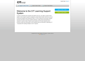 citlearningsupport.supportsystem.com
