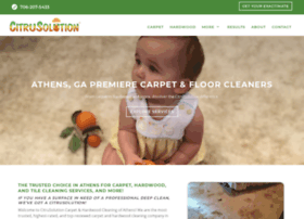 citruscarpetcleaningathens.com