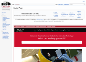 citwiki.oberlin.edu