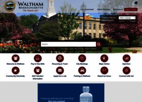 city.waltham.ma.us