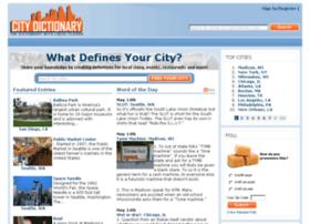 citydictionary.com