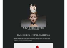 citygirlinredlipstick.com