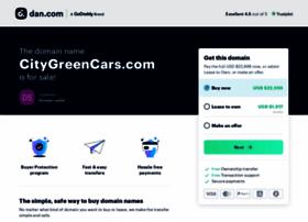 citygreencars.com