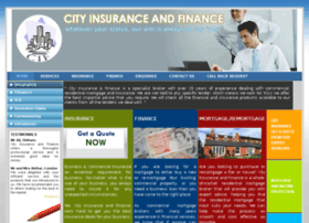 cityinsuranceandfinance.co.uk
