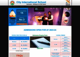 cityinternationalschool.edu.in