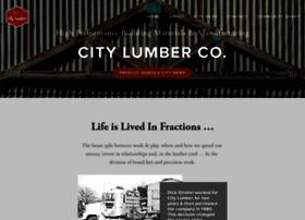 citylumberco.com