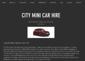 cityminicarhire.com