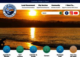 cityofcapitola.org
