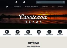 cityofcorsicana.com