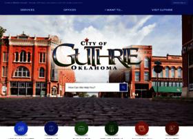 cityofguthrie.com