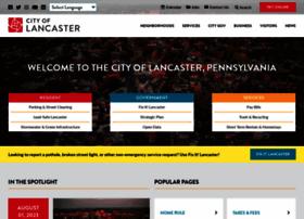 cityoflancasterpa.com