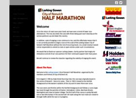 cityofnorwichhalfmarathon.com