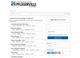 cityofpflugerville.iapplicants.com
