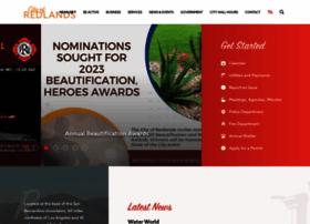 cityofredlands.org